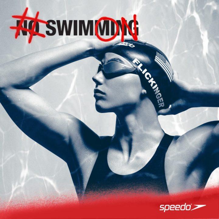 World Championship medalist Hali Flickinger, #SwimON