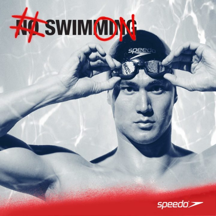 Olympic and World Champion Nathan Adrian, #SwimON