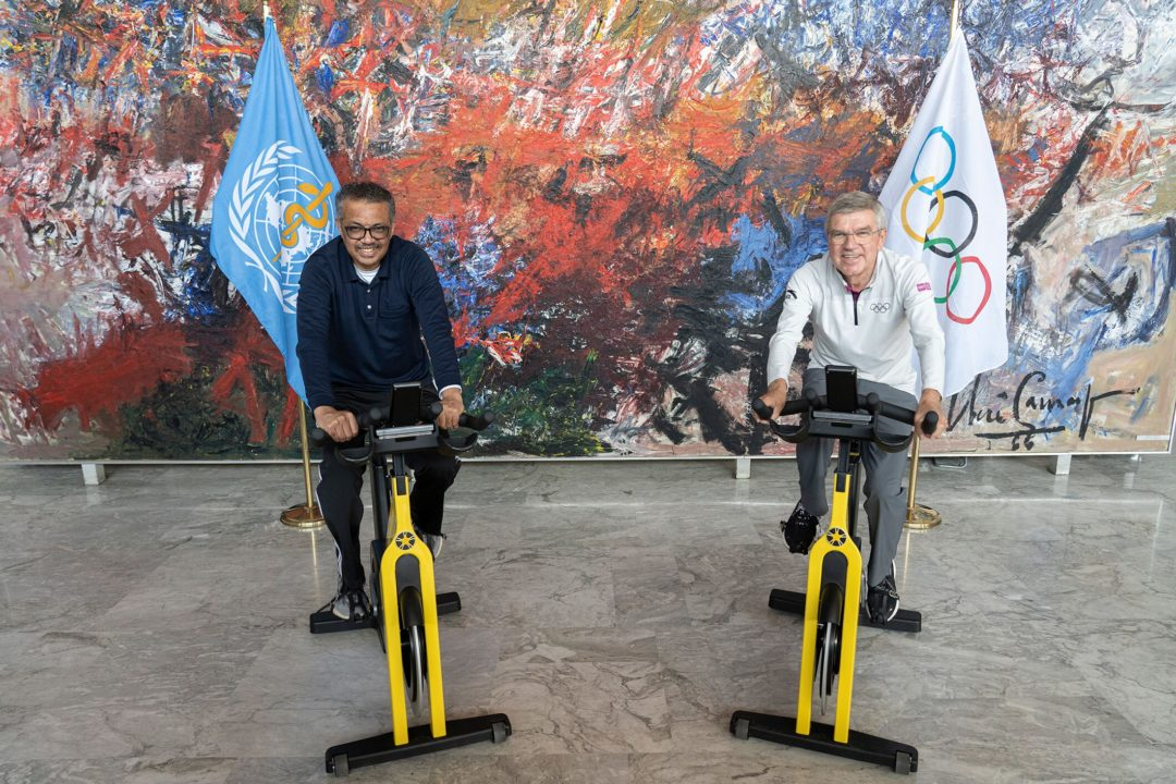 IOC, WHO Strengthen Partnership to 'Promote Healthy Society Through Sport'