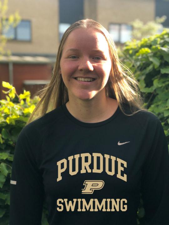 2017 World Junior Championships Semi-Finalist Cecilie Wiuff Commits to Purdue