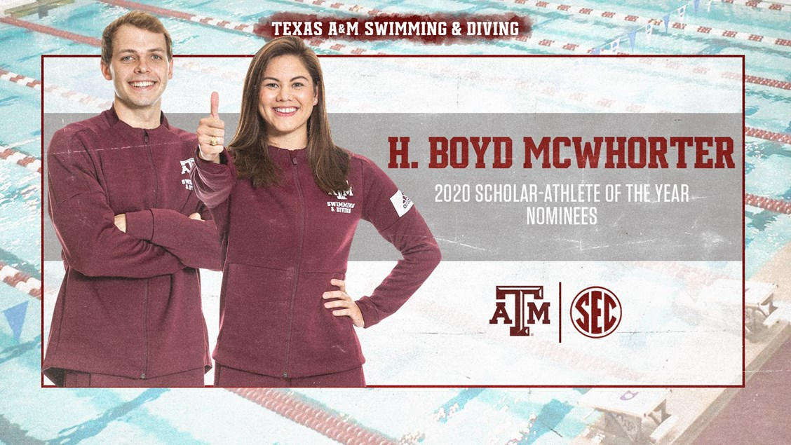 TAMU's Eldridge, Walker Named McWhorter Scholar-Athlete of the Year Nominees