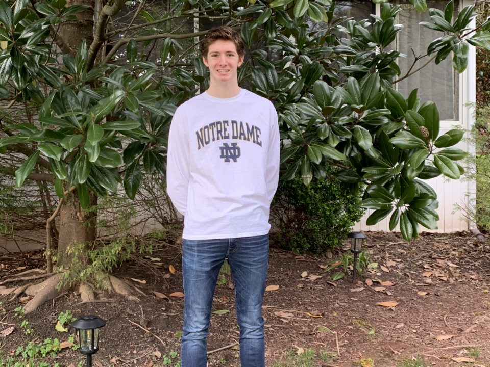 Chris Guiliano, Top Remaining Sprinter in Class of 2021, Commits to Notre Dame