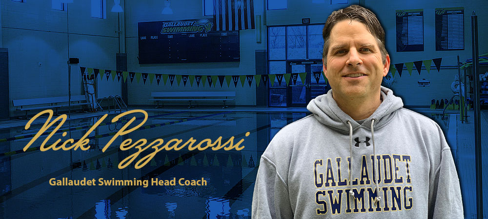 Nick Pezzarossi Hired As Gallaudet University Swimming & Diving Head Coach