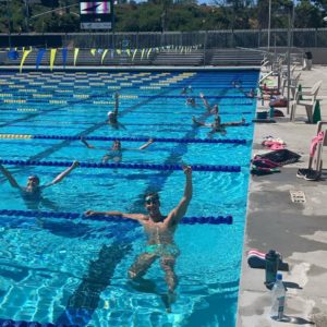 Team Elite Returns to 50 Meter Training Pool in La Jolla