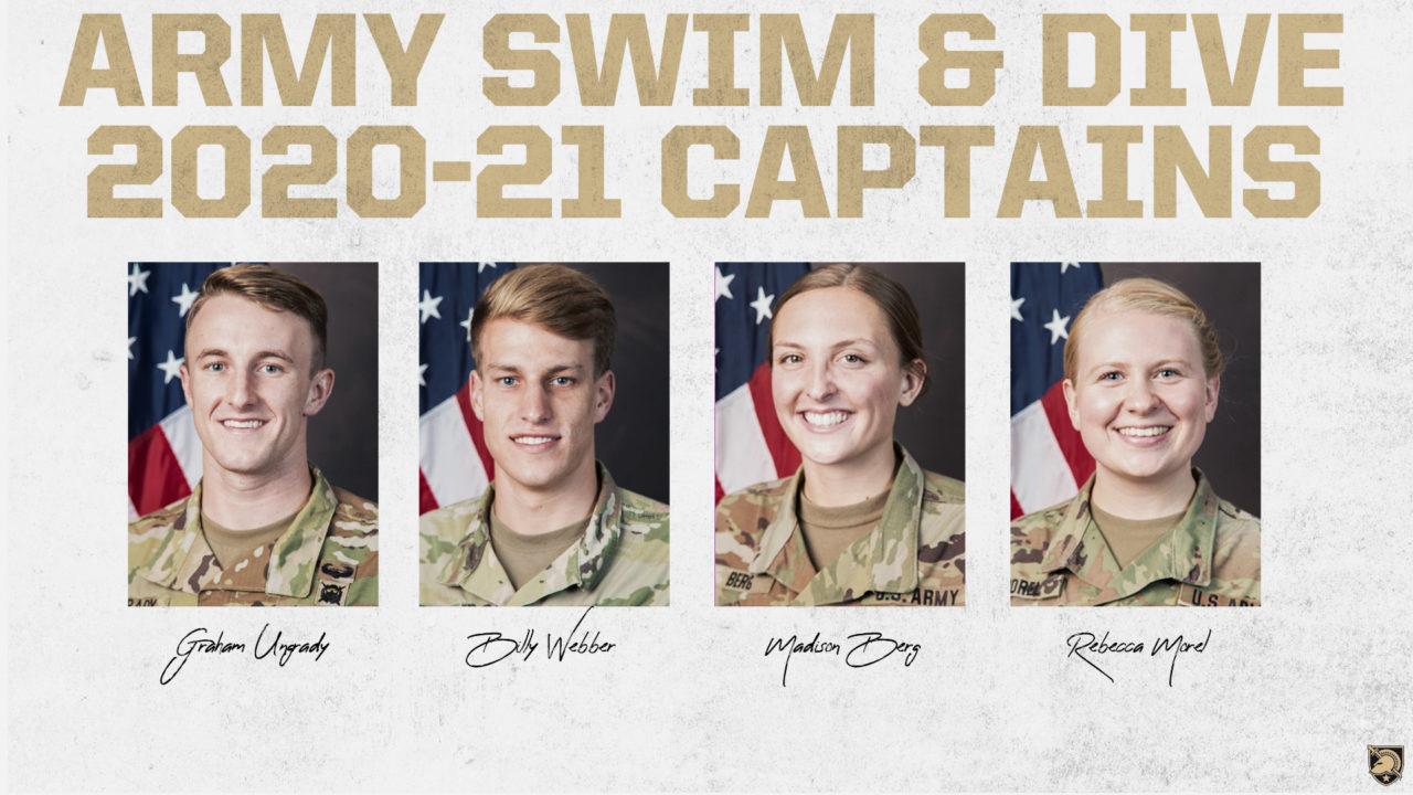 Army Swim & Dive Announces Captains for 2020-21 Campaign