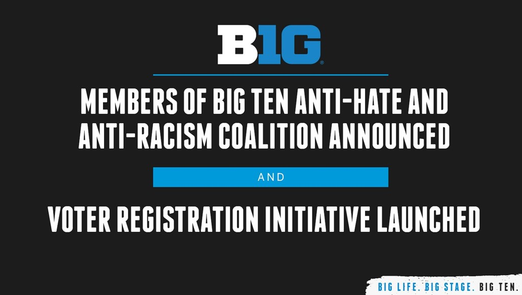 Members of Big Ten Anti-Hate and Anti-Racism Coalition Announced