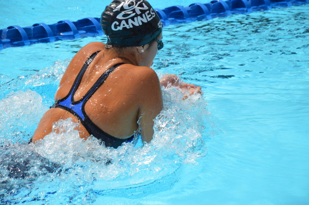 French-Chilean Swimmer Zoé Gibson Commits to Florida Gulf Coast University