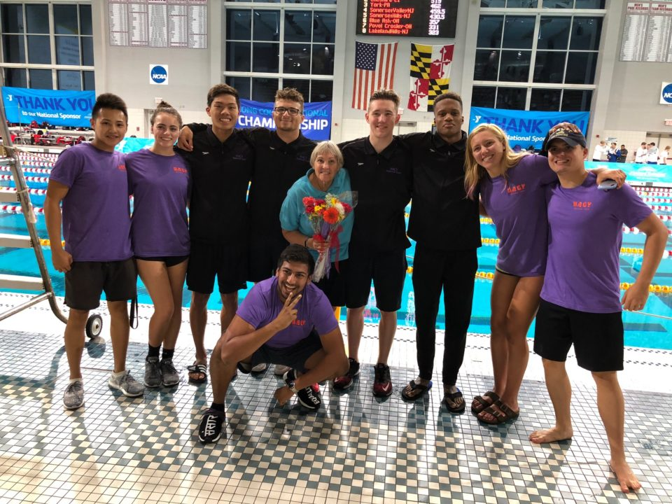 Sue Welsh Named 2020 YMCA Swimming Coach of the Year