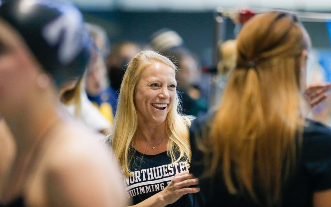 After Finishing 27th Last Year, NU's Maddie Smith Qualifies 2nd in 50FR Prelims
