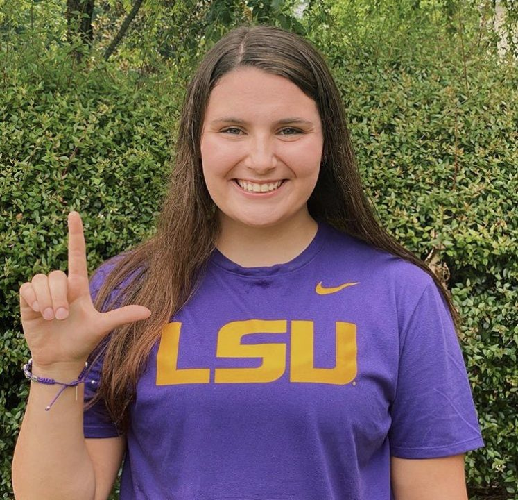 2020 Georgia 6-7A Runner-Up Reagan Sweeney Verbals to LSU for Fall 2021