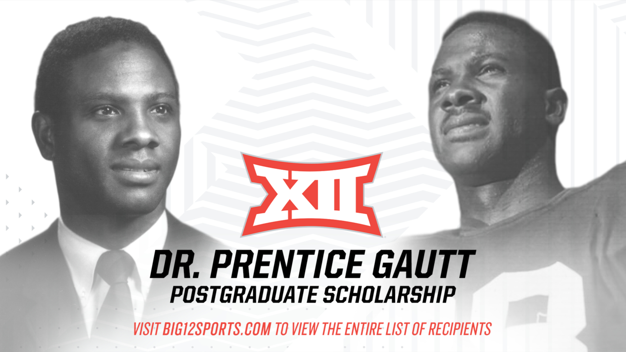 Ruehle, Duican & Gibson Among Big 12 Gautt Postgraduate Scholarship Recipients