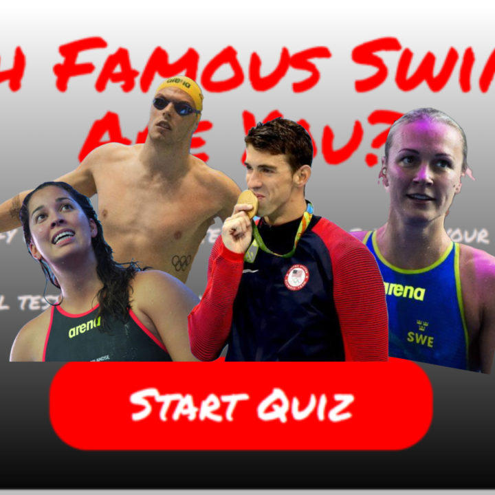 Quiz Time: Which Famous Swimmer Are You?