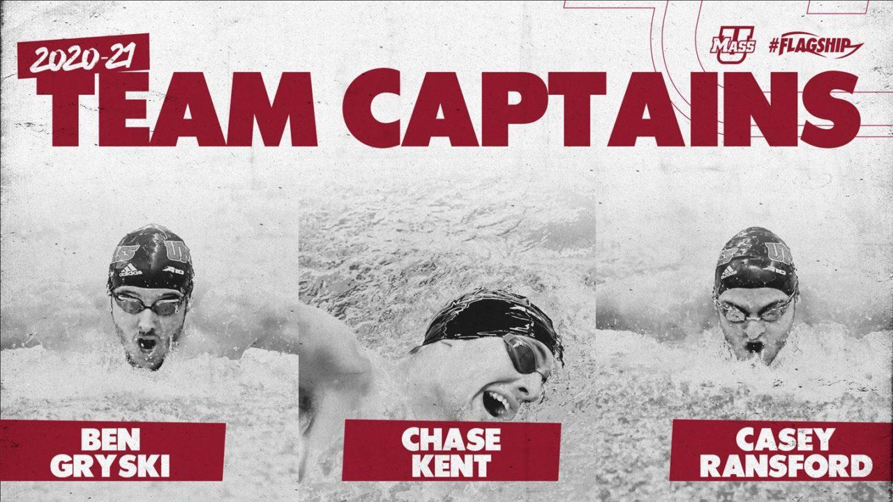 UMass Men Name 2020-21 Team Captains, Announce Team Awards