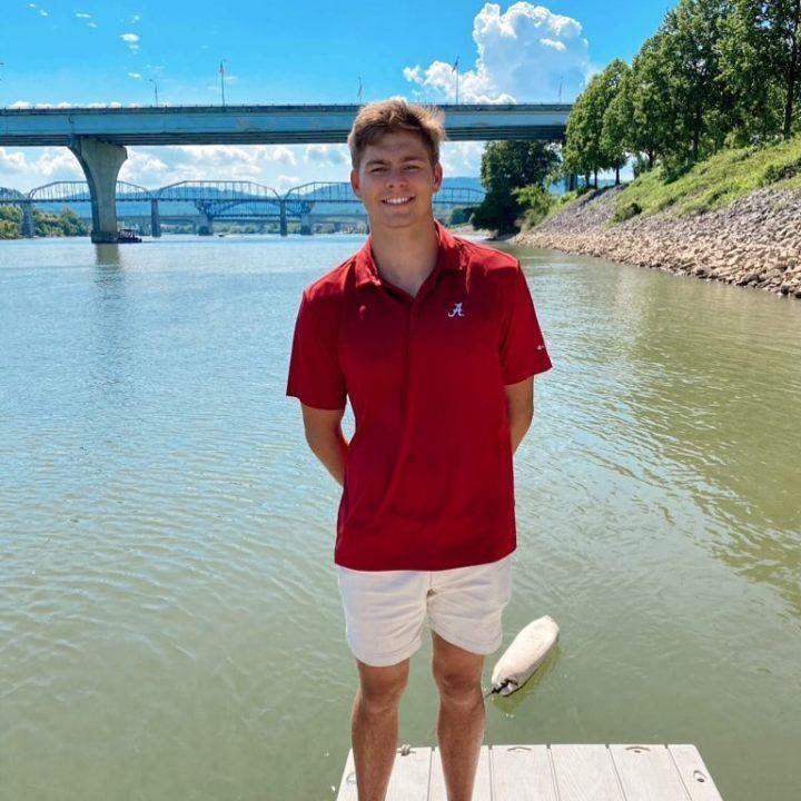1:42 200 Backstroker Jake Marcum, Rising Sophomore, Leaves Indiana for Alabama