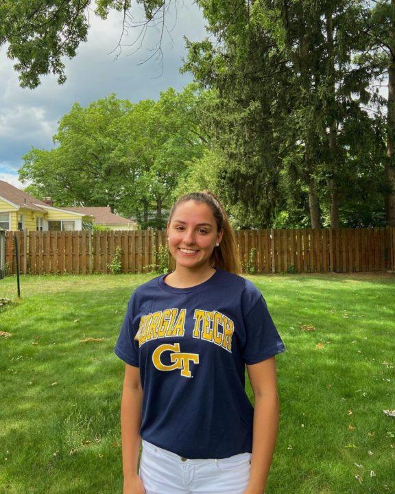 Georgia Tech Picks Up NJ Breaststroker Clarissa Sabin for Fall 2021