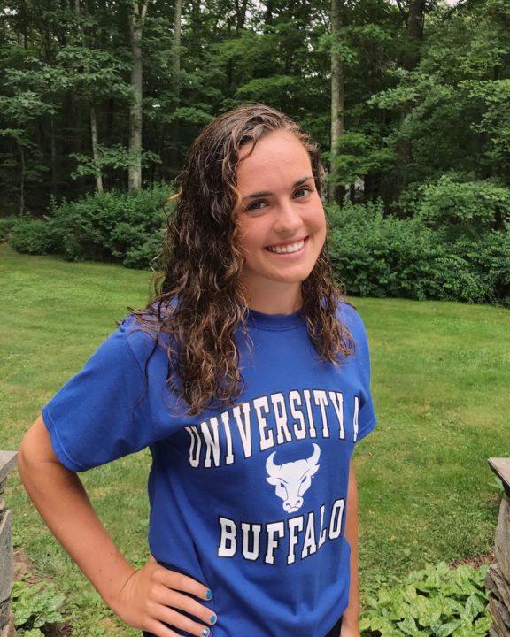 Butterflier Amanda Neeb Commits to University at Buffalo