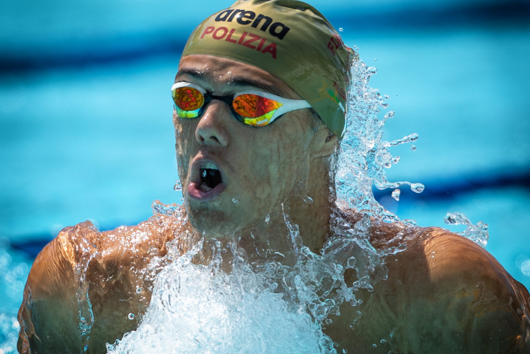 Thomas Ceccon Breaks Italian Record in 50 Fly in Verona