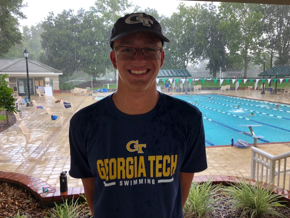 David Gapinski Verbally Commits to Georgia Tech for 2021-22