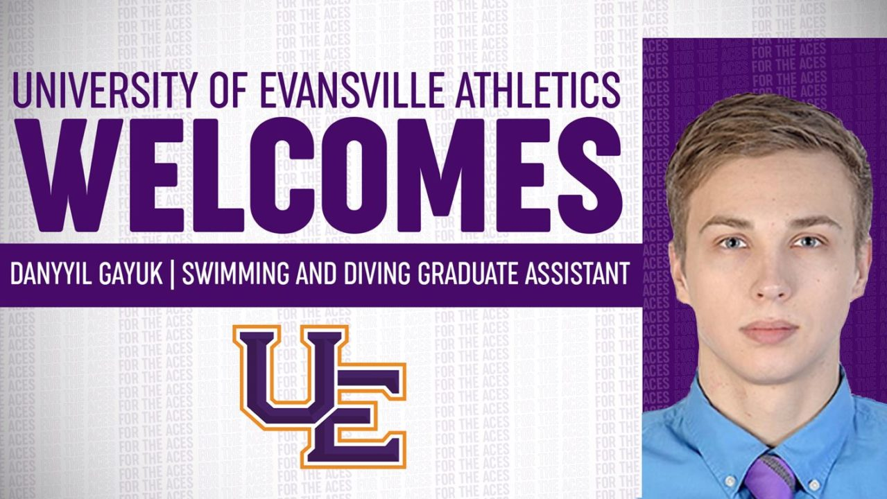 University of Evansville Adds Danyyil Gayuk To Coaching Staff