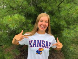 Jayhawks Succeed in Keeping 2x Kansas HS Champ Addi Barnes (2021) In-State
