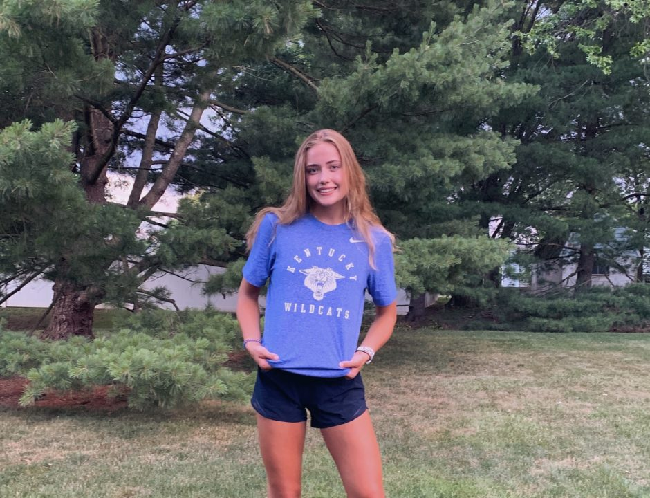 2-Sport Athlete Kaelan Daly (2021) Verbally Commits to Kentucky for Swimming