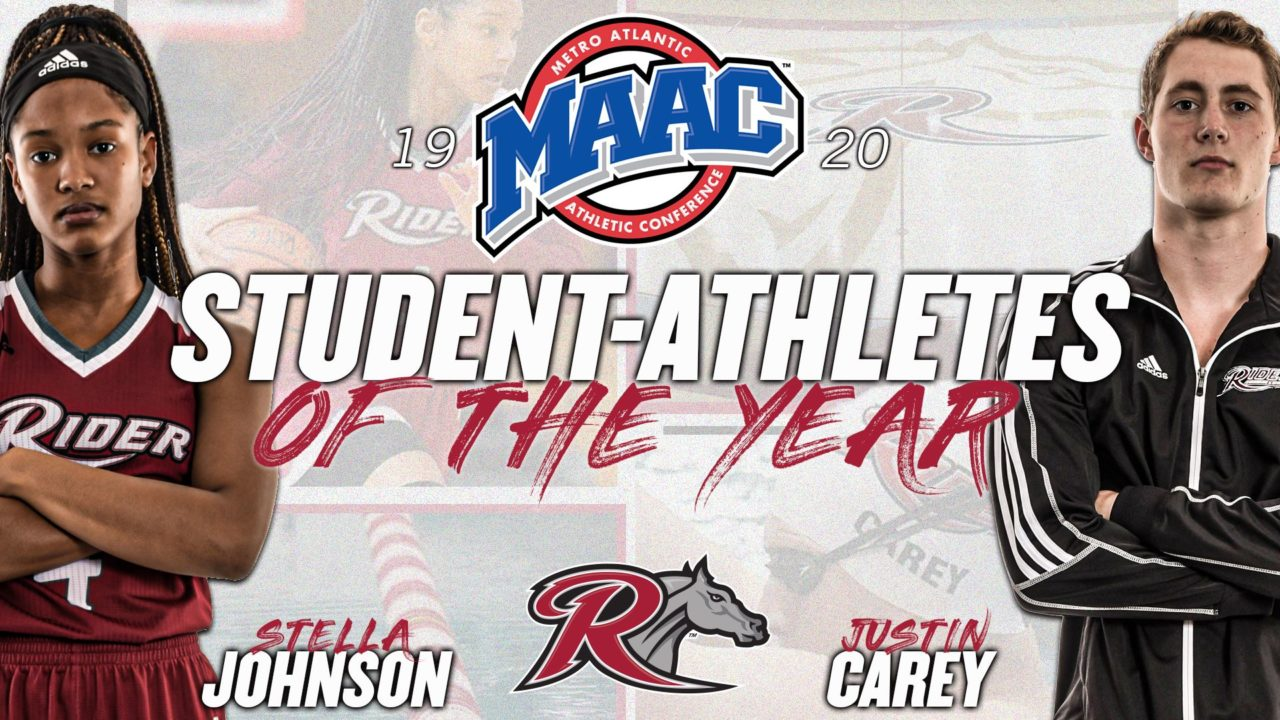 Rider's Justin Carey Named MAAC Male Student-Athlete of the Year