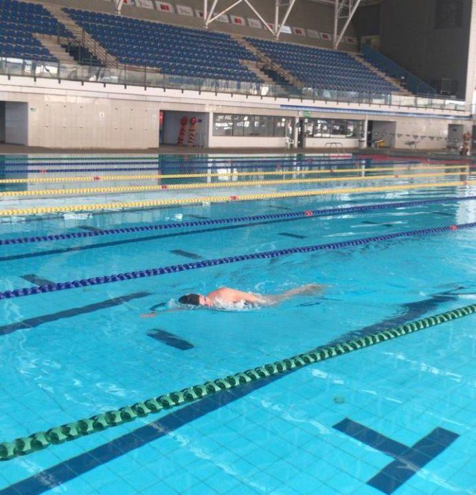 Chile: regreso a la piscina en soledad
