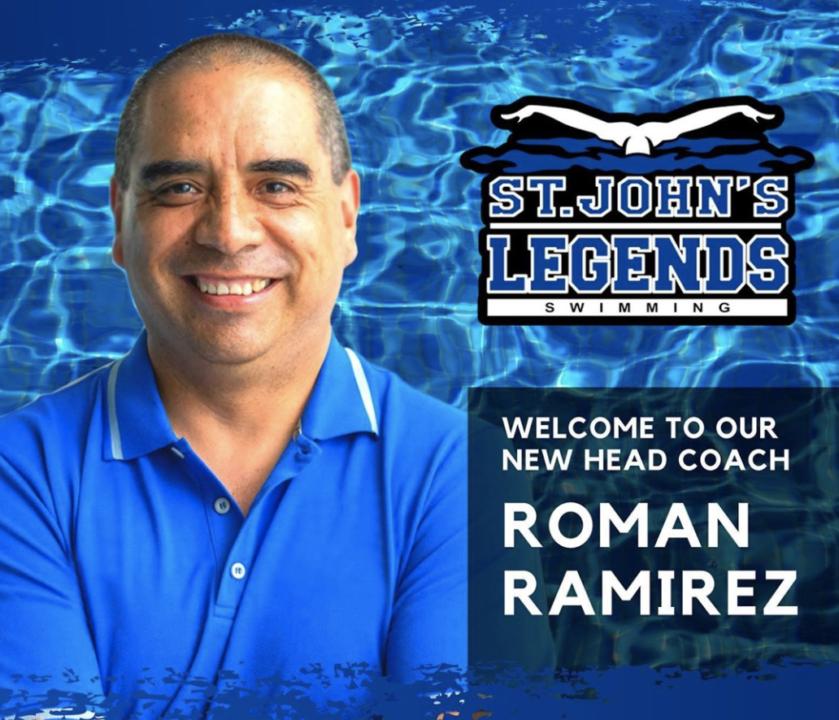 St. John's Legends Announce Roman Ramirez As New Head Coach