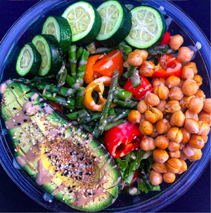 The Hungry Swimmer: Vegetarian Meal Ideas