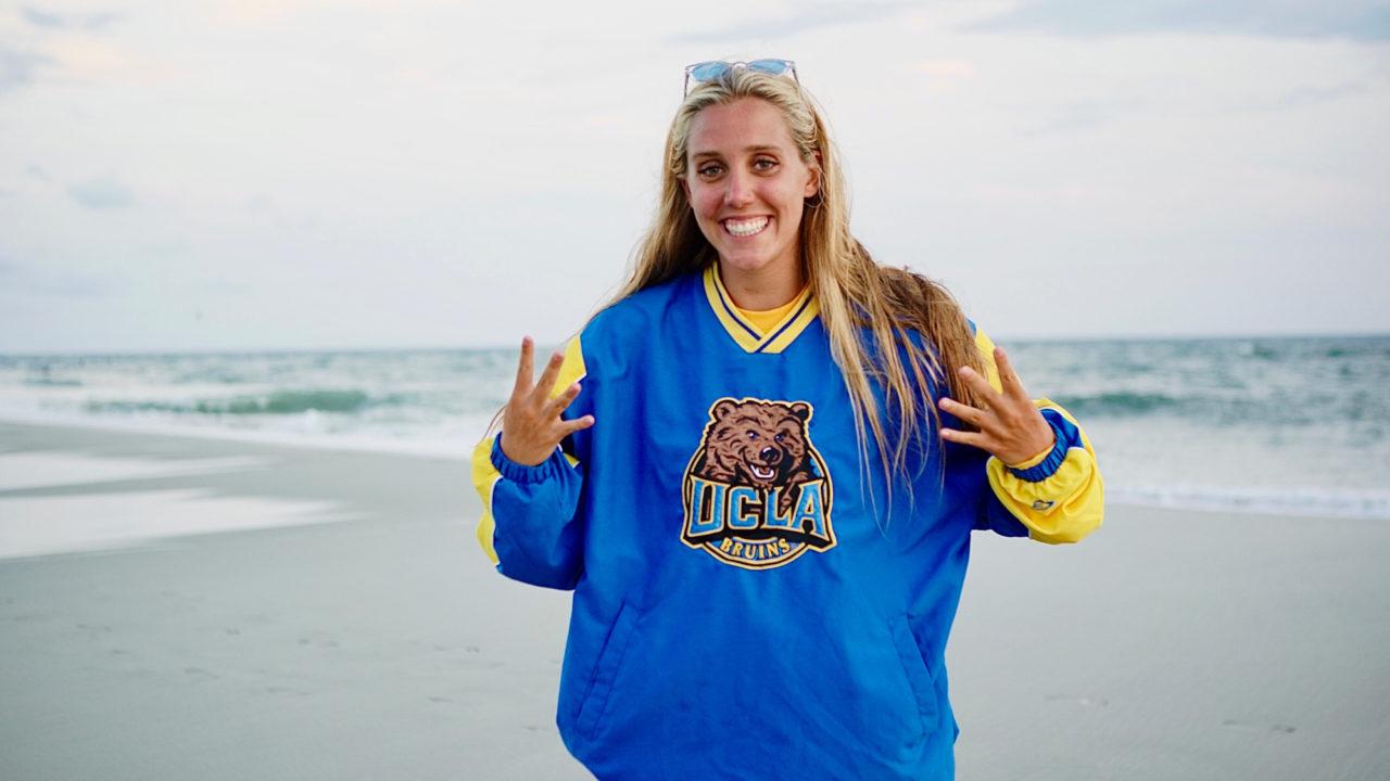Backstroker Kate Luft Transfers from South Carolina to UCLA