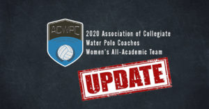ACWPC Releases Updated 2020 Women's All-Academic Team