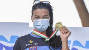 Arianna Bridi Vince La Capri-Napoli: E' La Prima Donna Della Storia