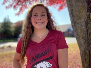 U.S. Open Finalist Olivia Mendenhall Sends Verbal Commitment to Arkansas