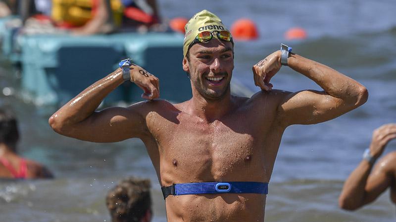 FINA Marathon Swim Series Gregorio Paltrinieri Bronzo Nella 10 km