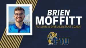 FIU Women's Swimming Hires Brien Moffitt as New Assistant Coach