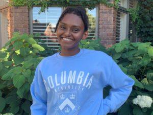 Nebraska High School State Finalist Hannah Hailu Commits to Columbia University
