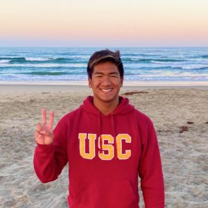 Brea Aquatics Butterflier Vincent Cheng Verbals to USC for 2021