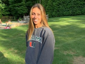 Breaststroker Emily Grasso Verbally Commits to Miami Hurricanes