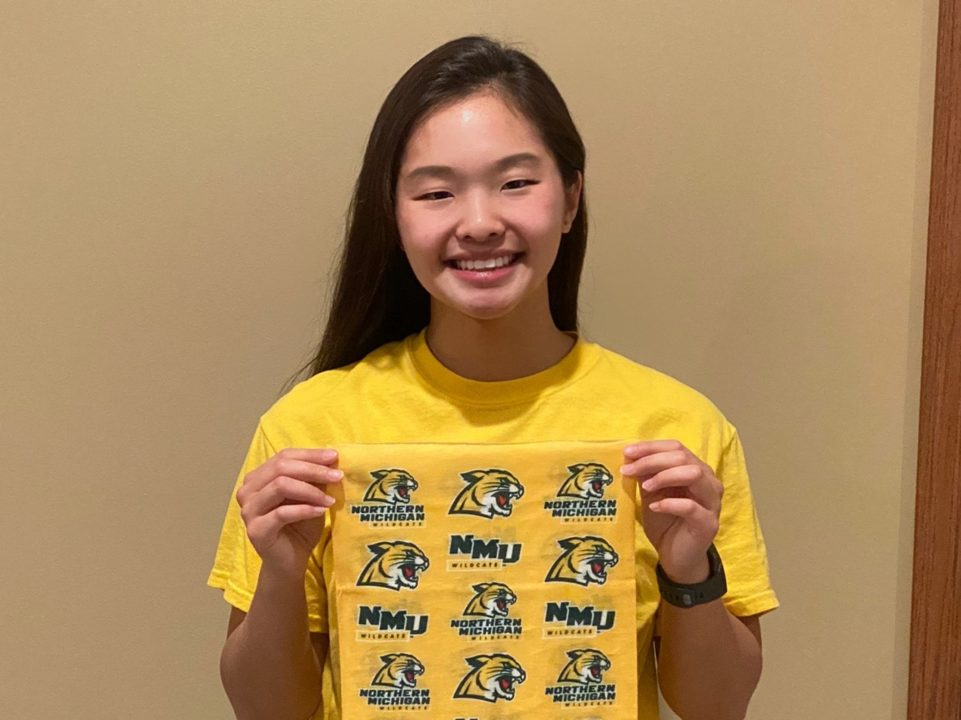 Backstroke Specialist Faith Sill Commits to Northern Michigan University (2021)