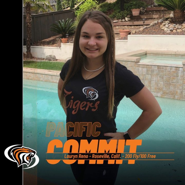 Lauryn Reno Transfers to Pacific; Will Take Reins from Brother Brandon