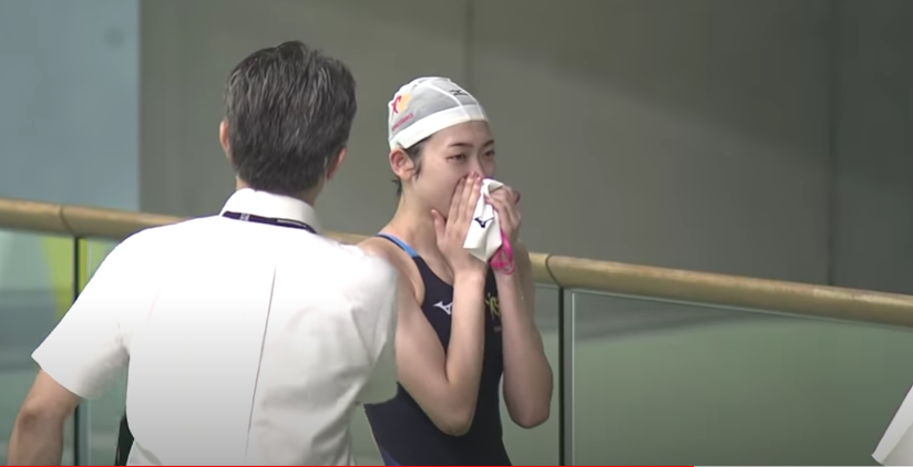 Rikako Ikee's Emotional Race Reaction Is Why We Swim (Video)