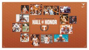 Texas Athletics Announces Next Hall of Honor Class