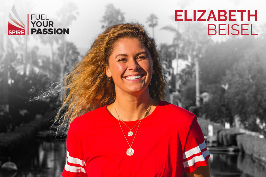 SPIRE Announces Elizabeth Beisel As International Swim Ambassador