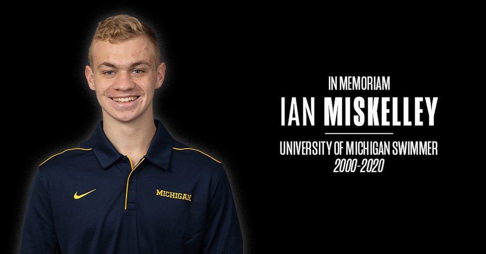 University of Michigan Swimmer Ian Miskelley Dies