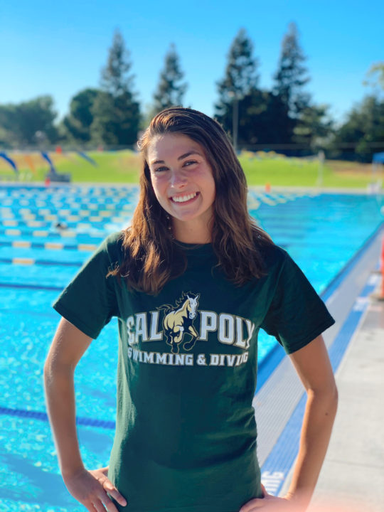 Rapidly-Improving Jayme Davis Commits to Cal Poly