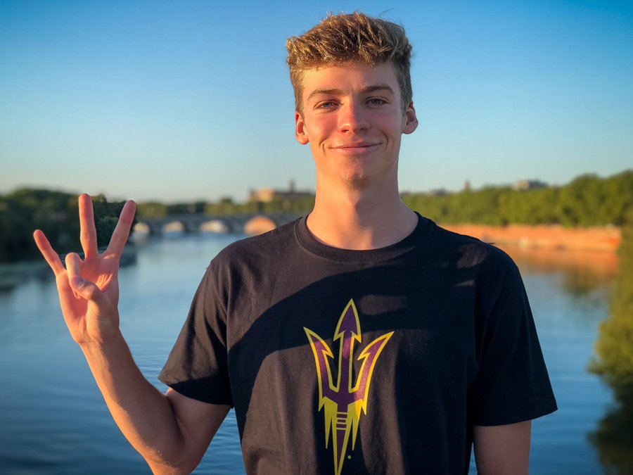 French National Record-holder Léon Marchand Verbally Commits to Arizona State