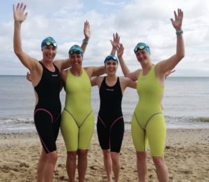 Big Rick's Chicks Complete Medley Relay Across the English Channel