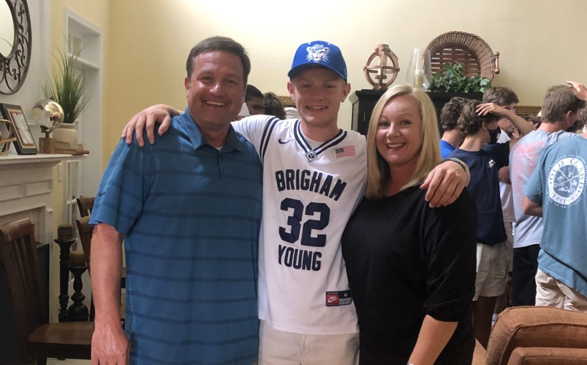 South Carolina Male Swimmer of the Year Tanner Edwards Sends Verbal to BYU