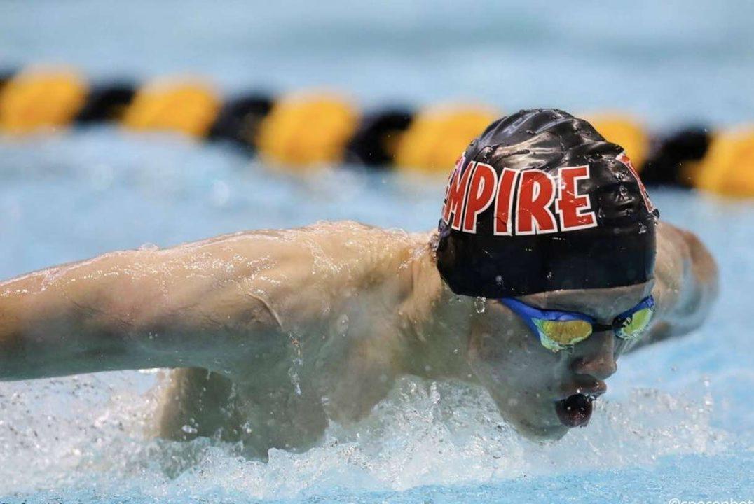 16-Year Old Caleb Ellis Swims His First Summer Juniors Cut in Kansas City