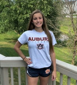 Auburn Gets Verbal Nod from Sprinter Carly Sebring for Class of 2026